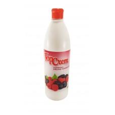Cobertura Topcrem Frutas Vermelhas
